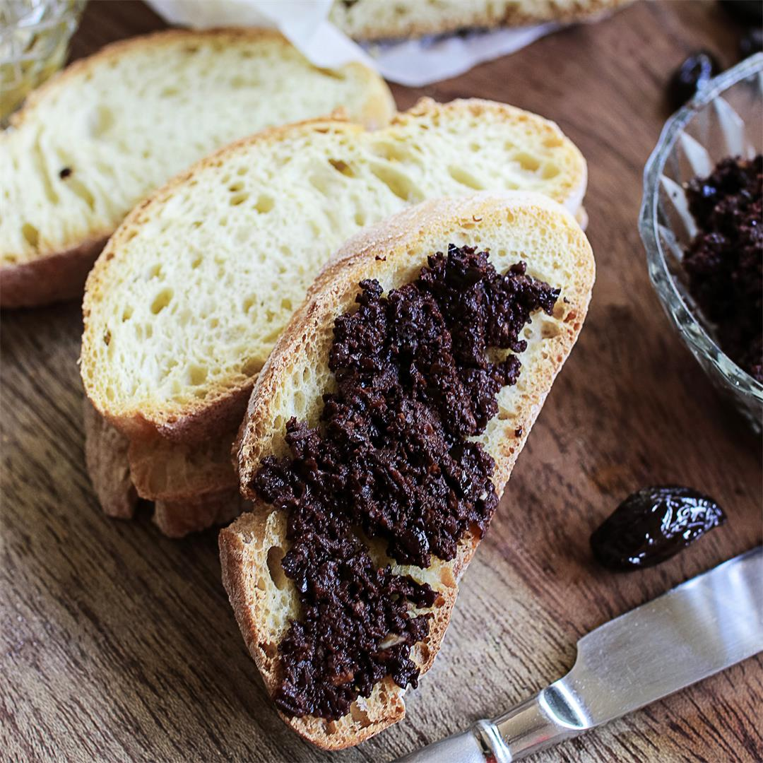 Black olive paste (tapenade)