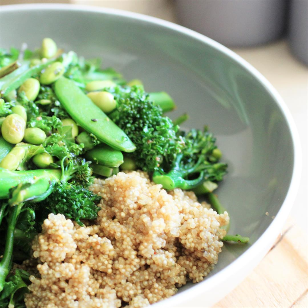 Green Goodness Bowl (Vegan, GF)