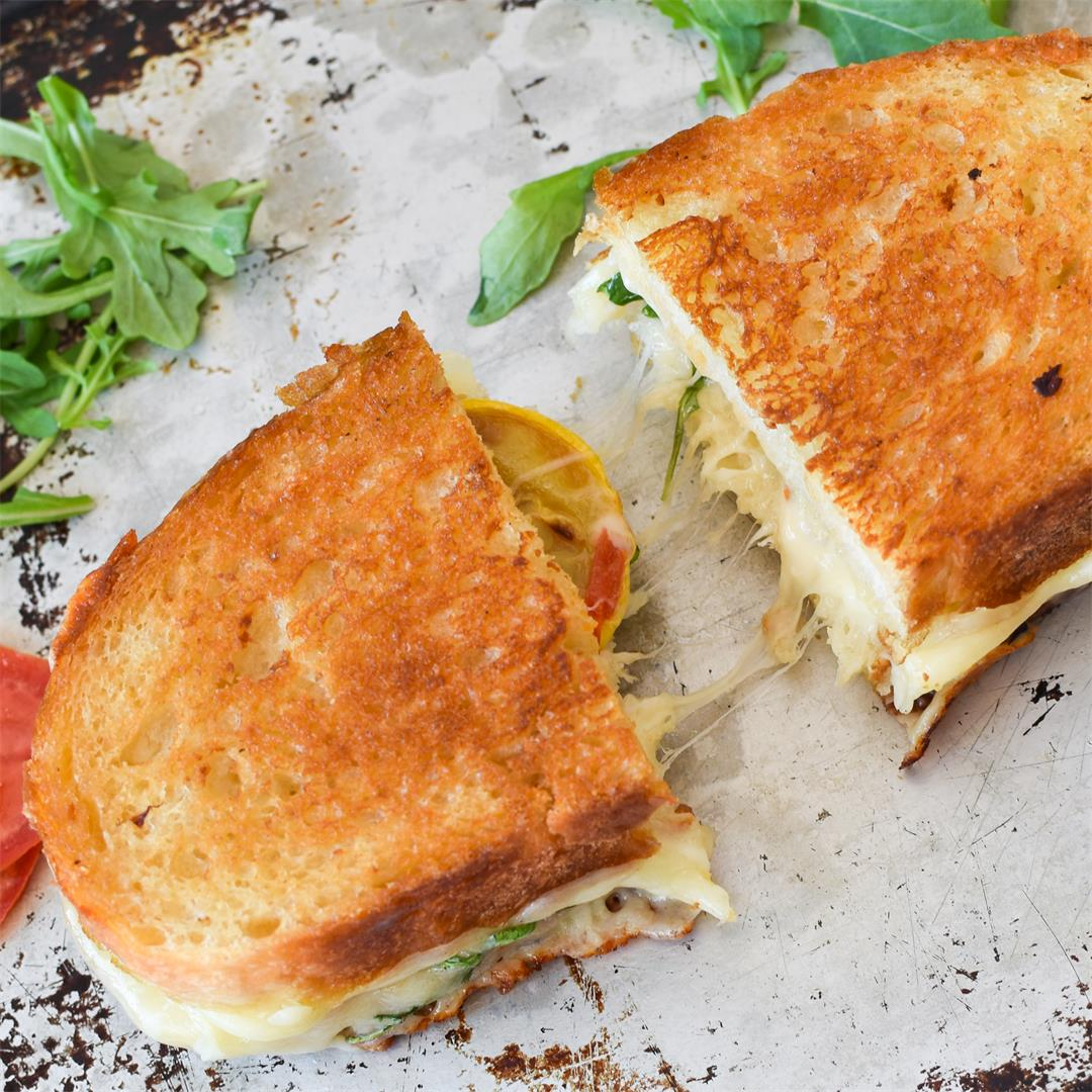 Loaded Zucchini Grilled Cheese