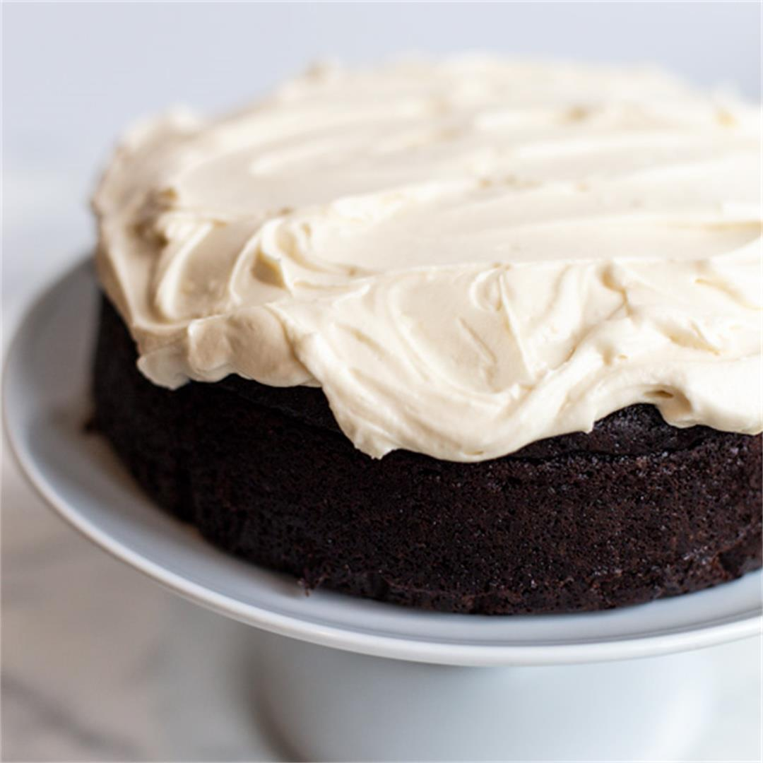 Guinness Beer Dark Chocolate Cake