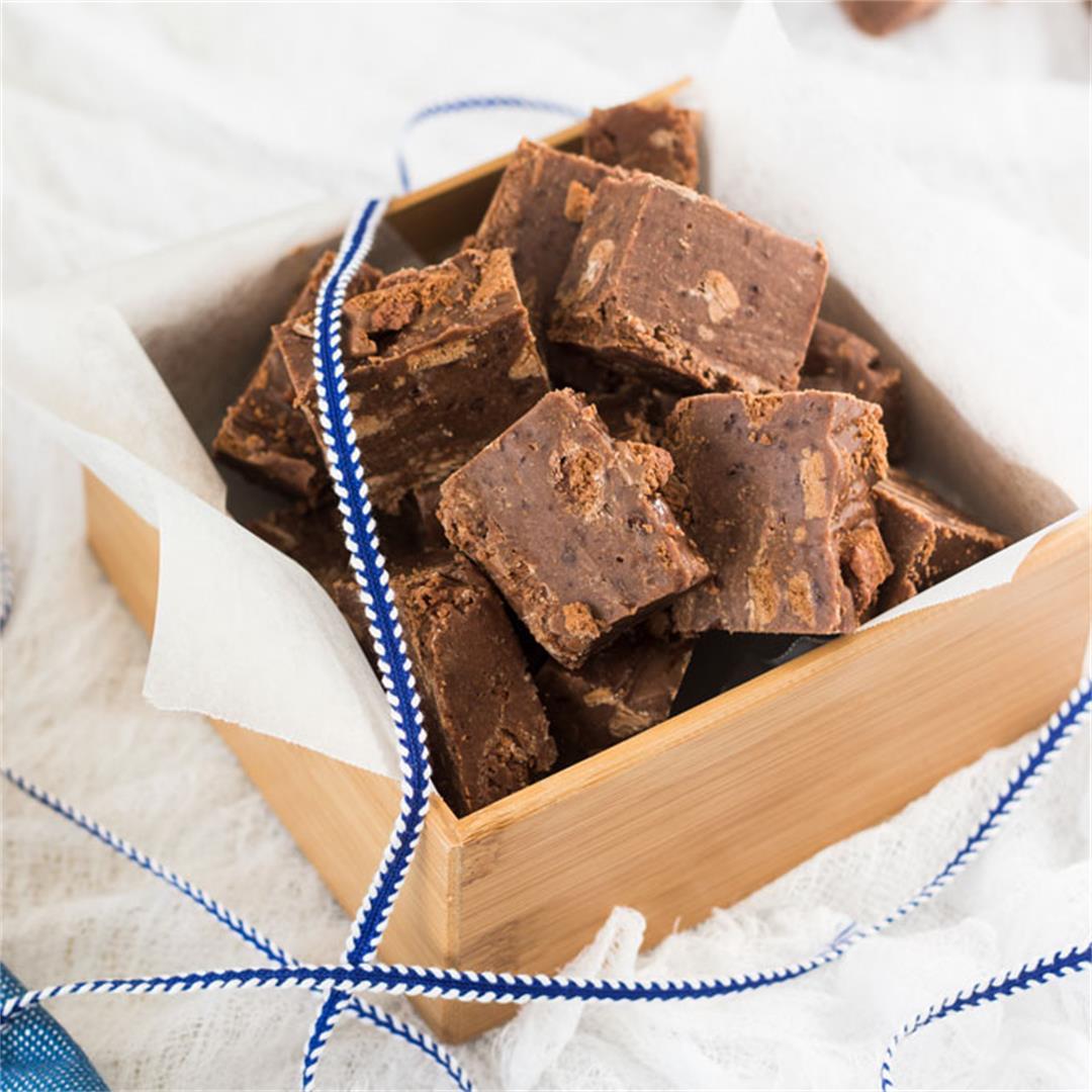 Milo Tim Tam Chocolate Fudge Recipe