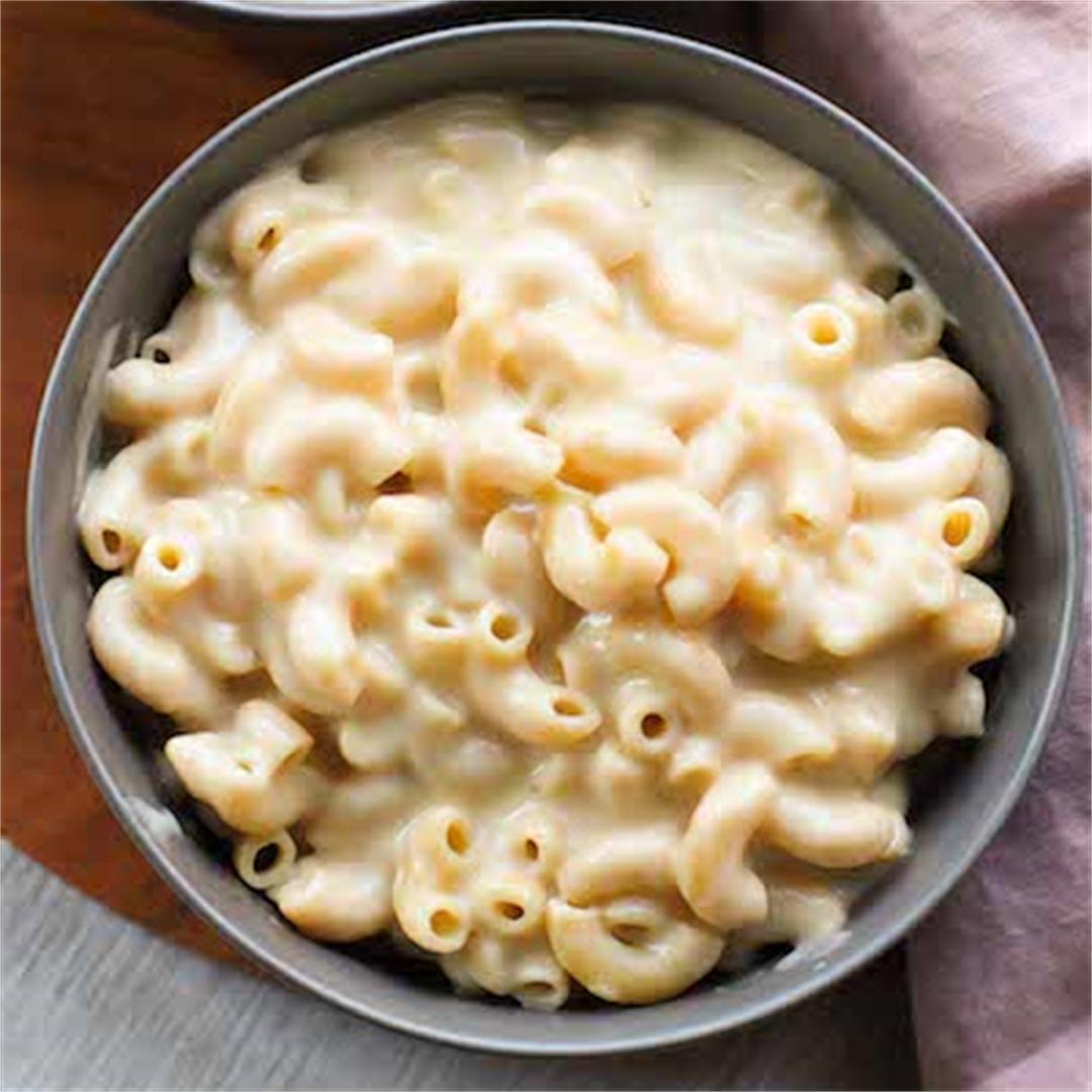 This vegan macaroni and