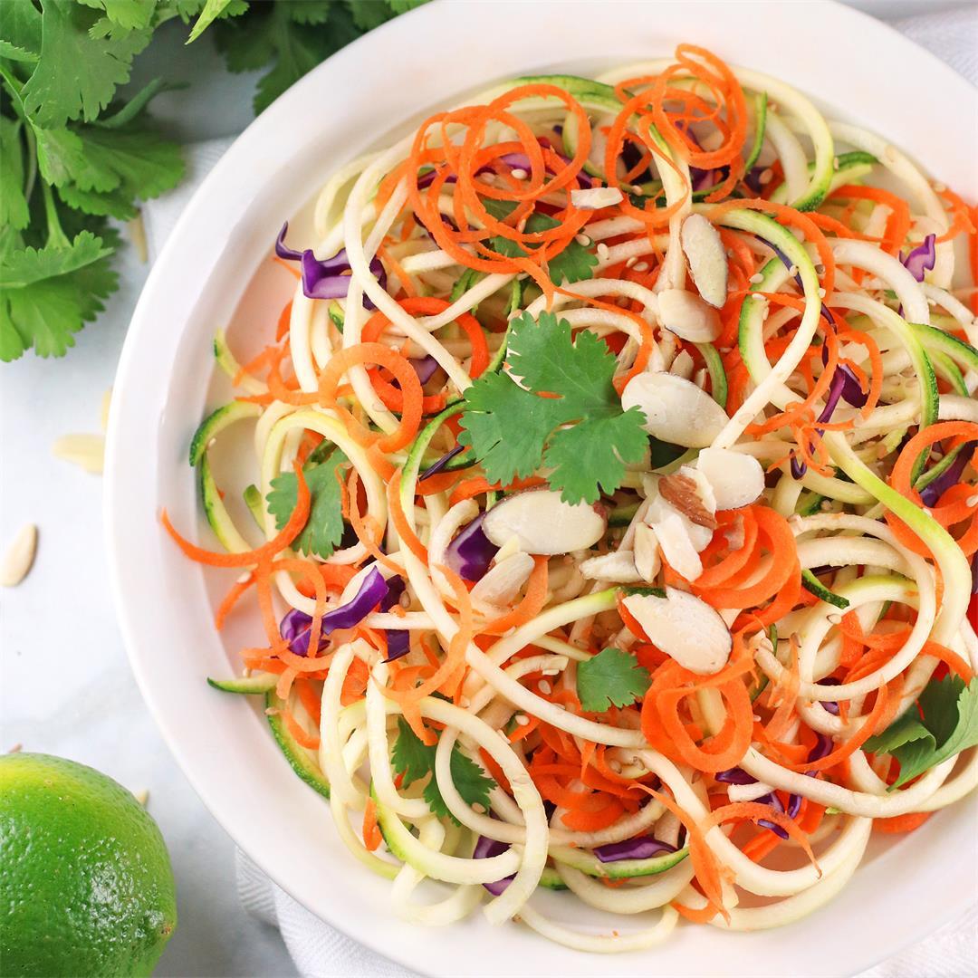 Spiralized Thai Salad