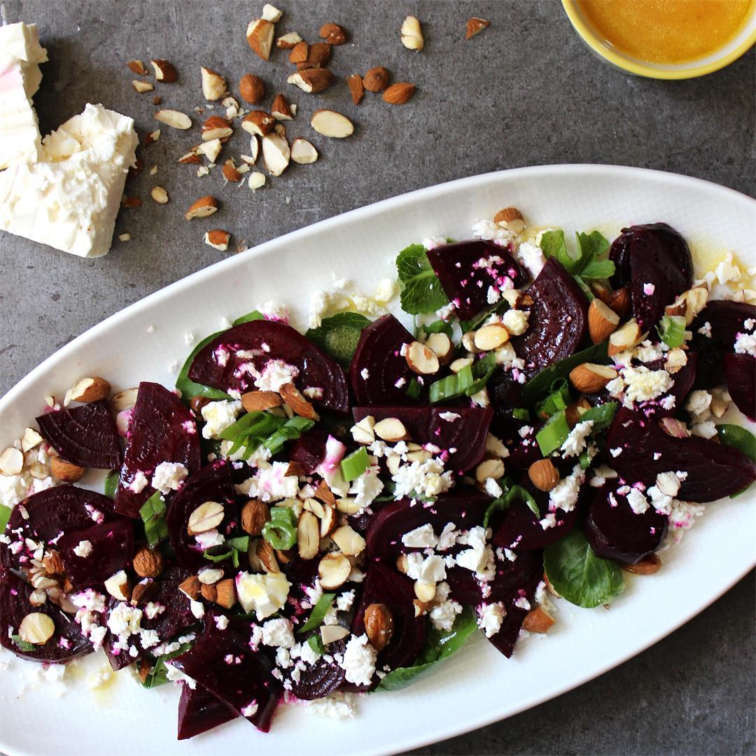 Grilled Springtime Beet Salad
