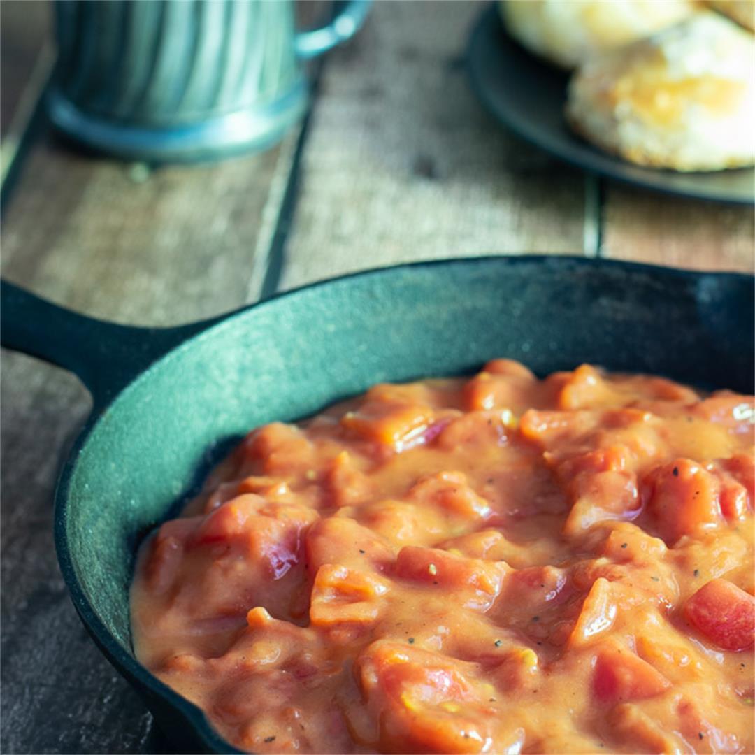 Easy Tomato Gravy - Southern Style