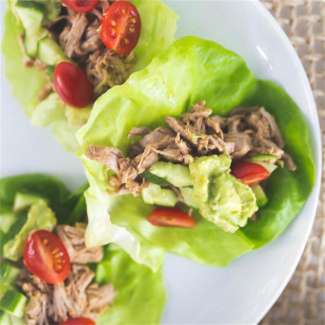 Whole30/Paleo Pork Carnitas Tacos