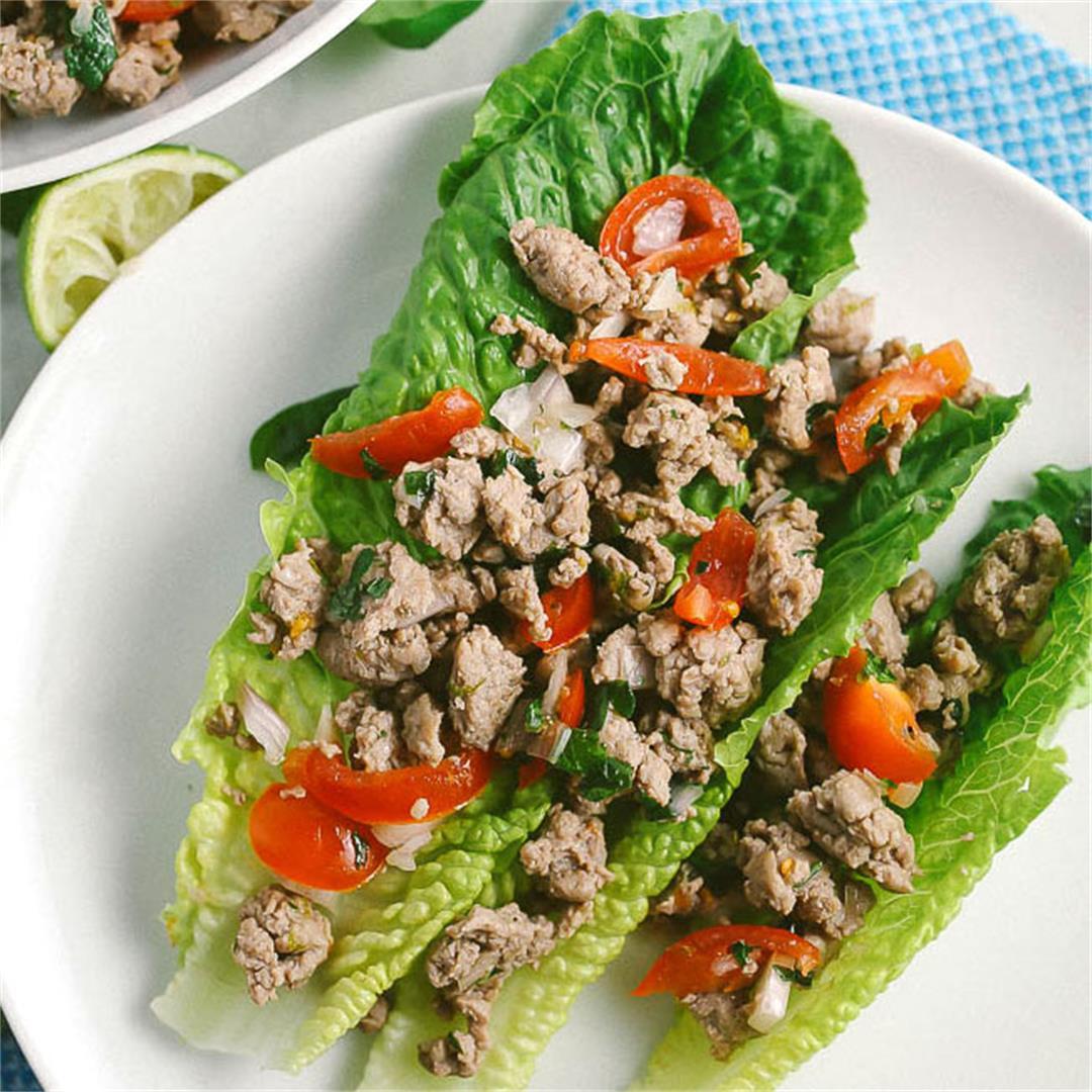 Thai Ground Chicken Salad