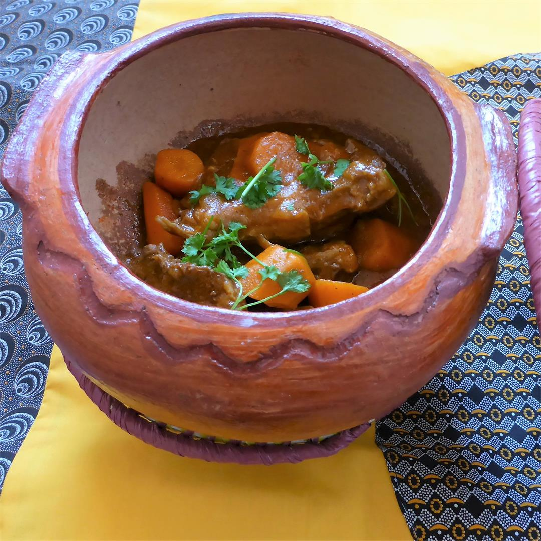A rich and hearty easy-to-follow Namibian beef stew recipe