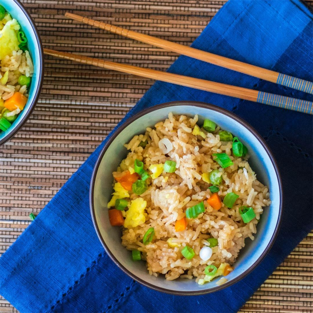 Chinese Instant Pot Fried Rice