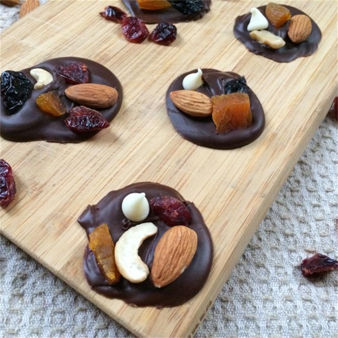 Chocolate Trail Mix Bites