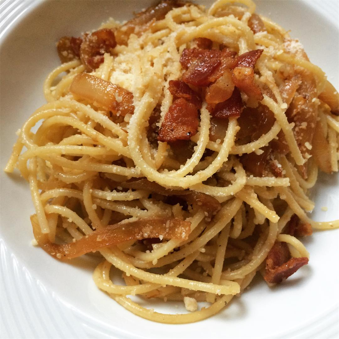 Easy Fake Carbonara