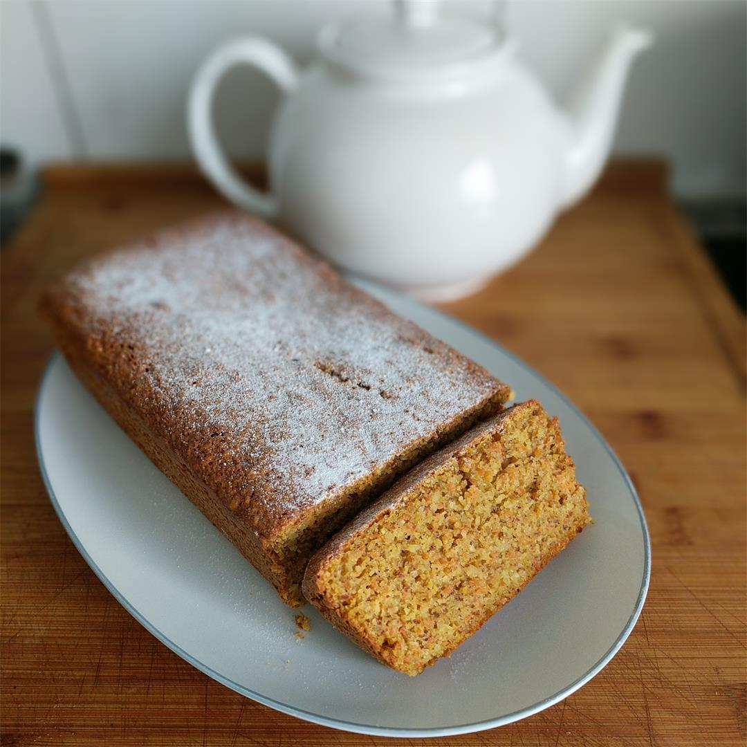 Carrot and almond cake mom's recipe