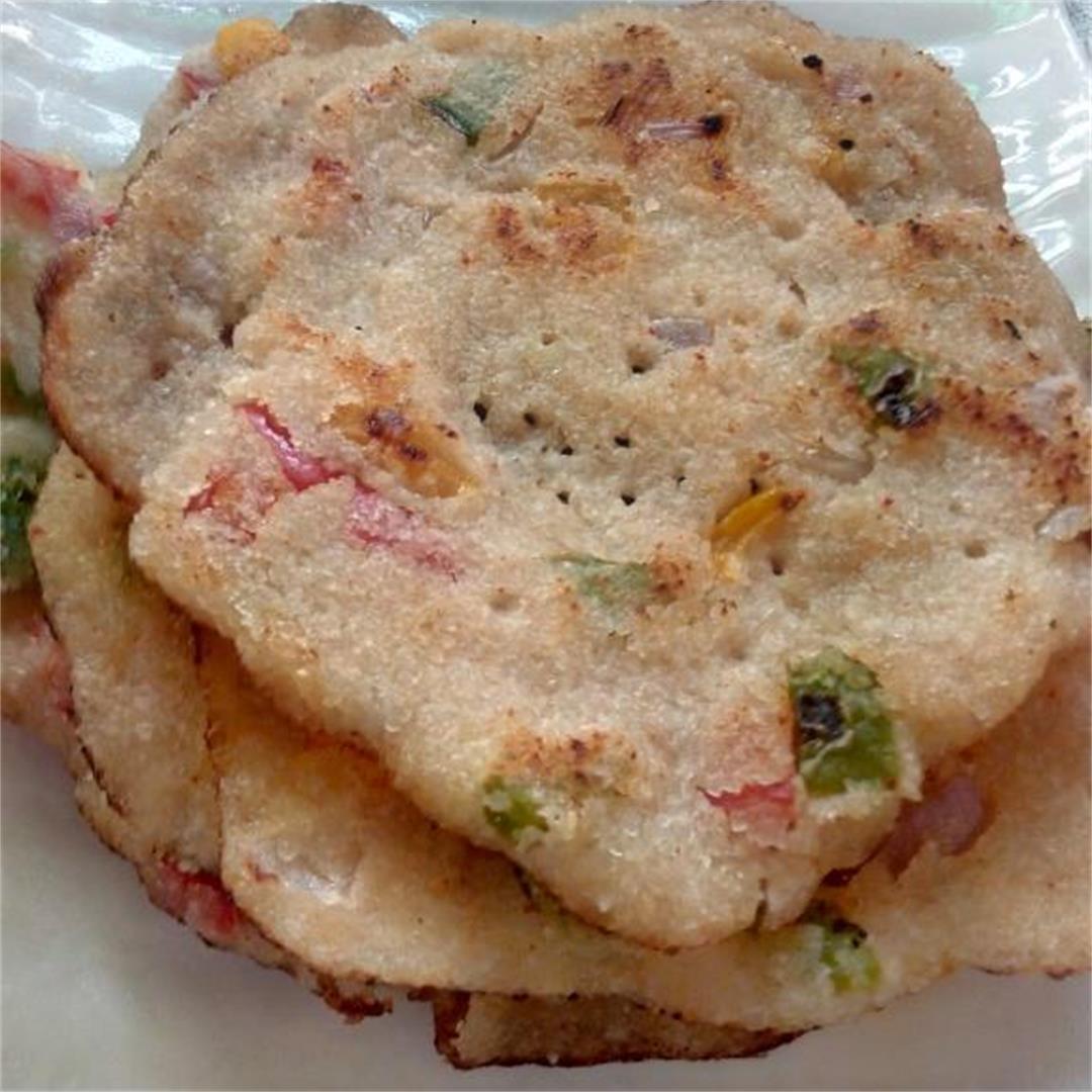Mini Semolina Savory Pancakes