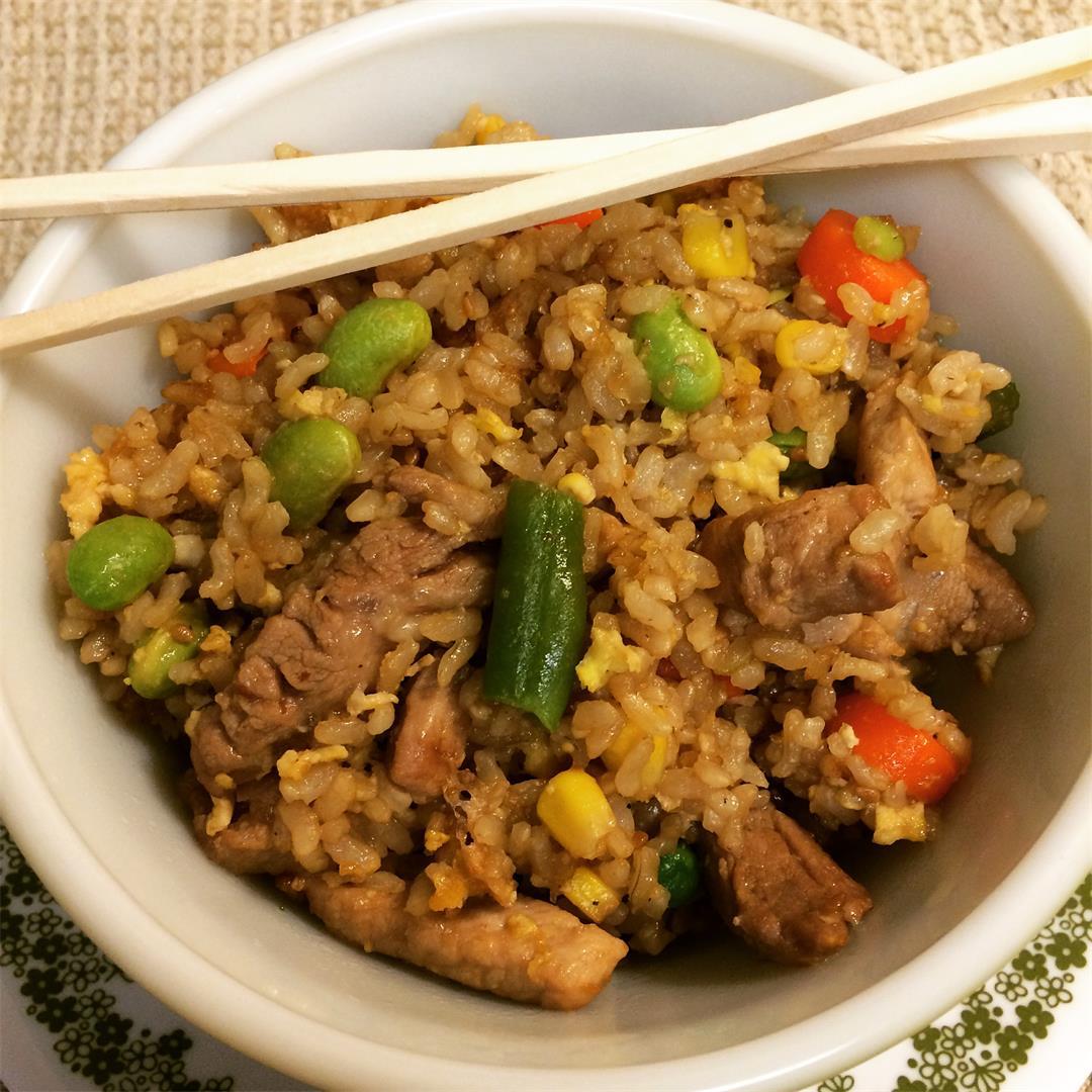 Restaurant Style Pork Fried Rice
