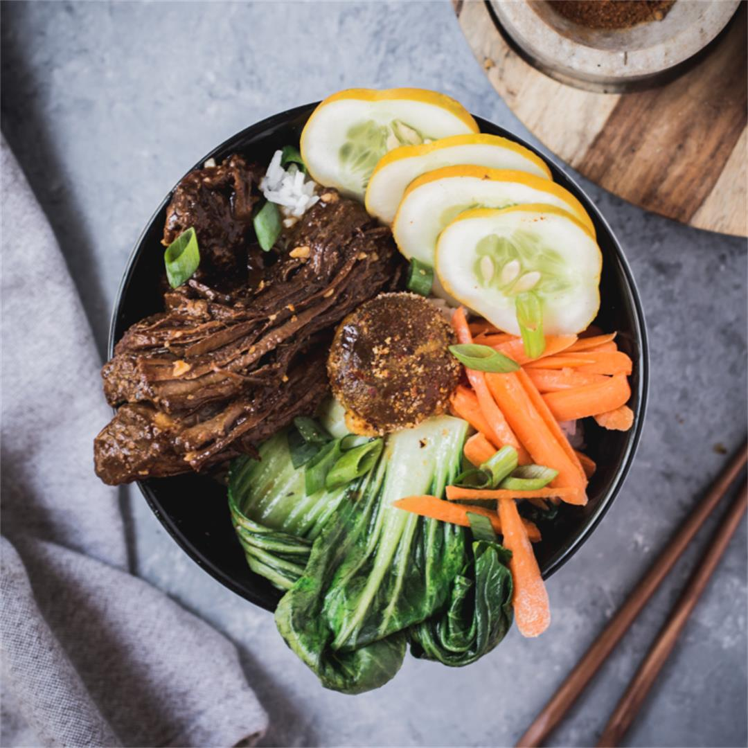 Korean BBQ Bibimbap Bowl
