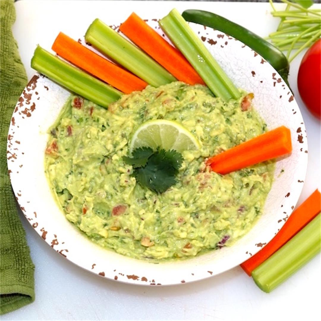 Great Summer Homemade Guacamole