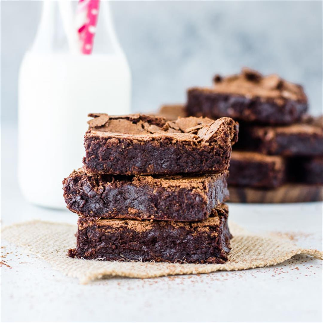 Gluten-Free Flourless Brownies