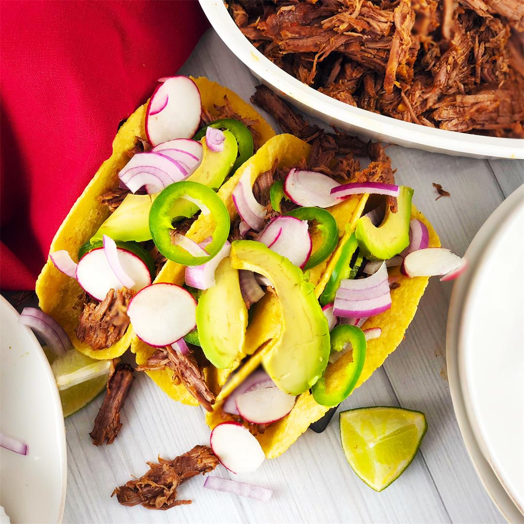 Instant Pot Mexican Beef Barbacoa