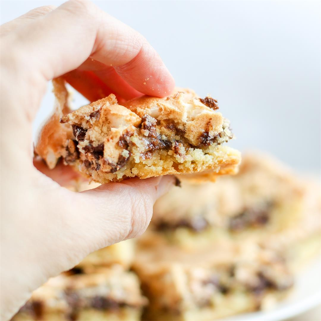 Brown Butter Mud Hen Bars
