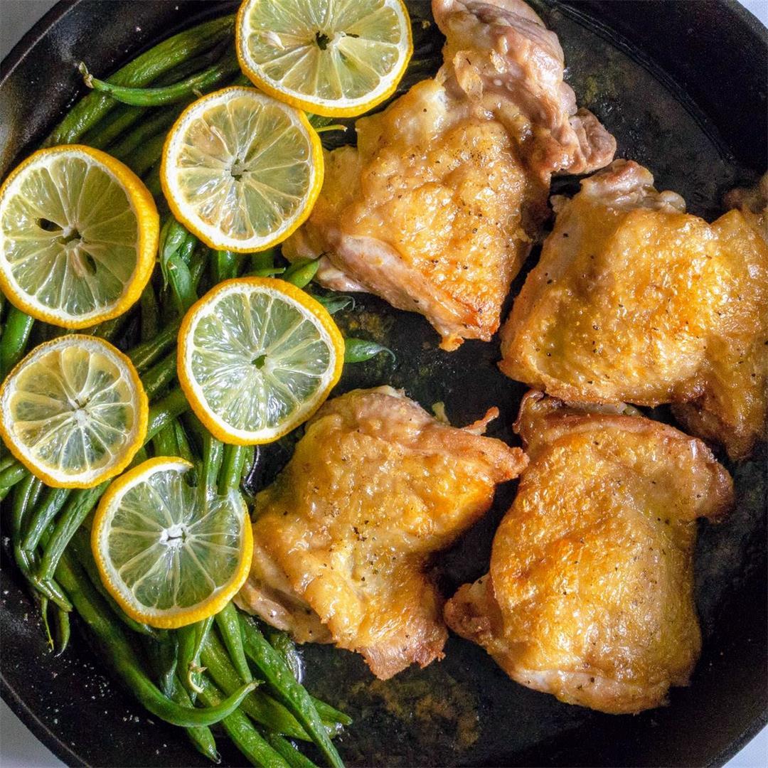Lemon Pepper Chicken & Green Beans