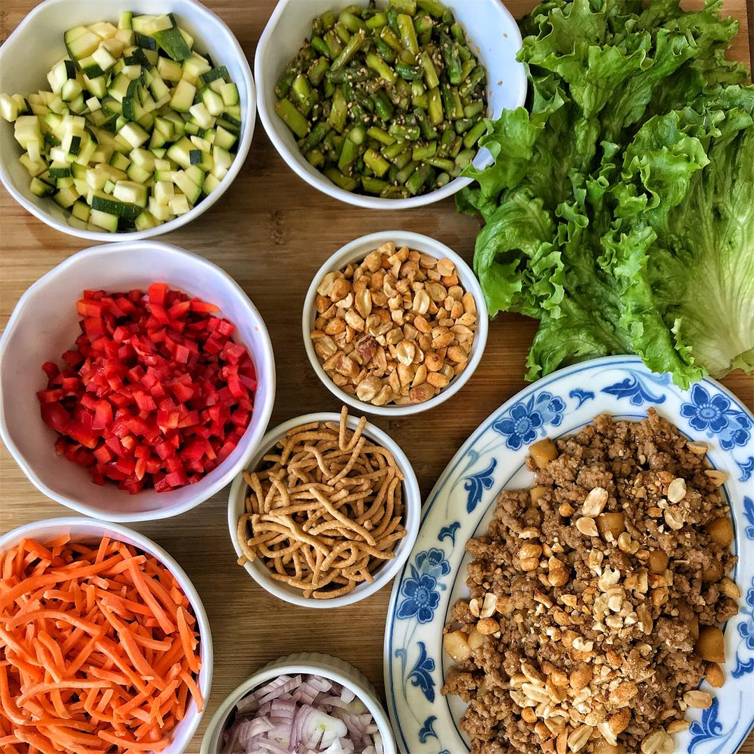 Thai Inspired Lettuce Wraps