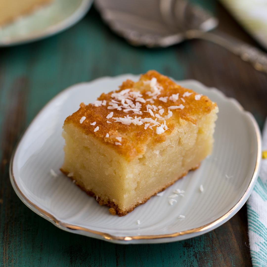Hawaiian Butter Mochi {Gluten Free}