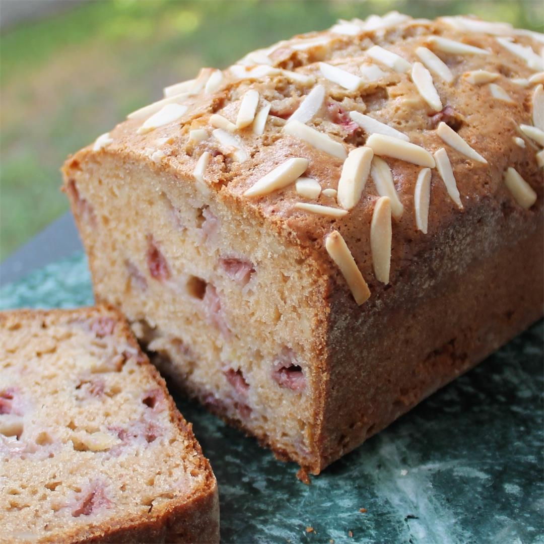 Strawberry Almond Quick Bread