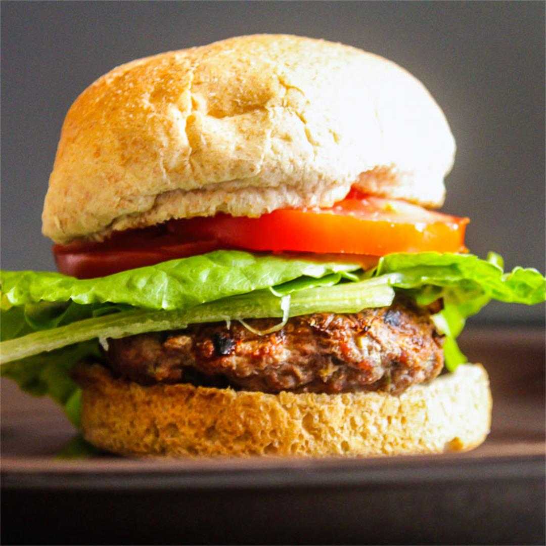 Grilled Herb Burger