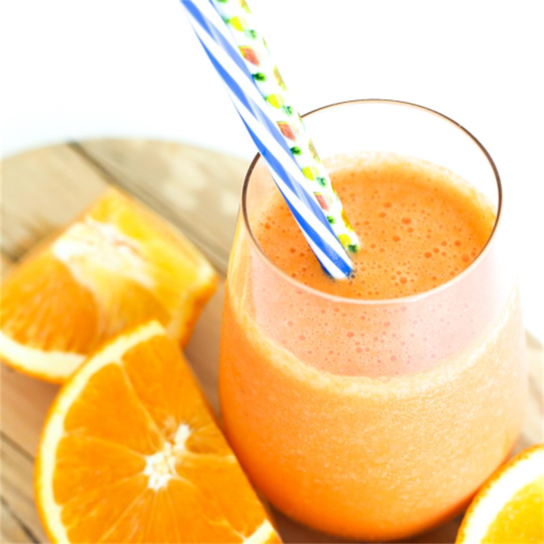 Tropical Orange Carrot Smoothie