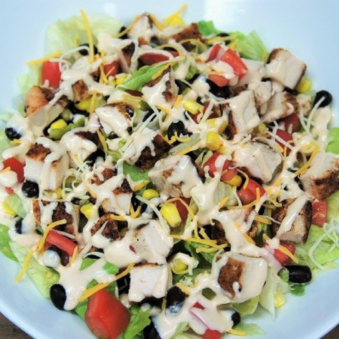 Grilled Chicken Southwestern Salad