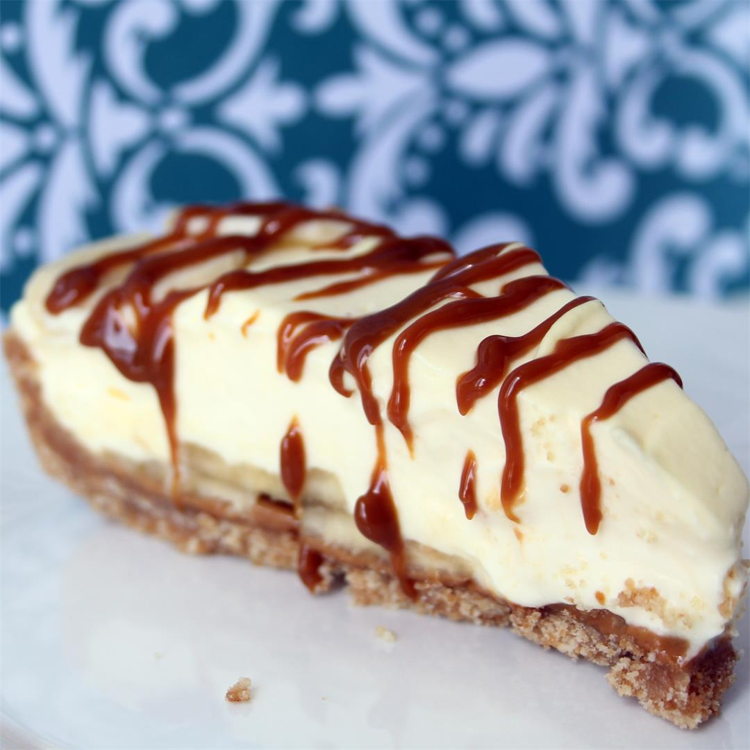 Dulce de Leche Banana Cream Tart