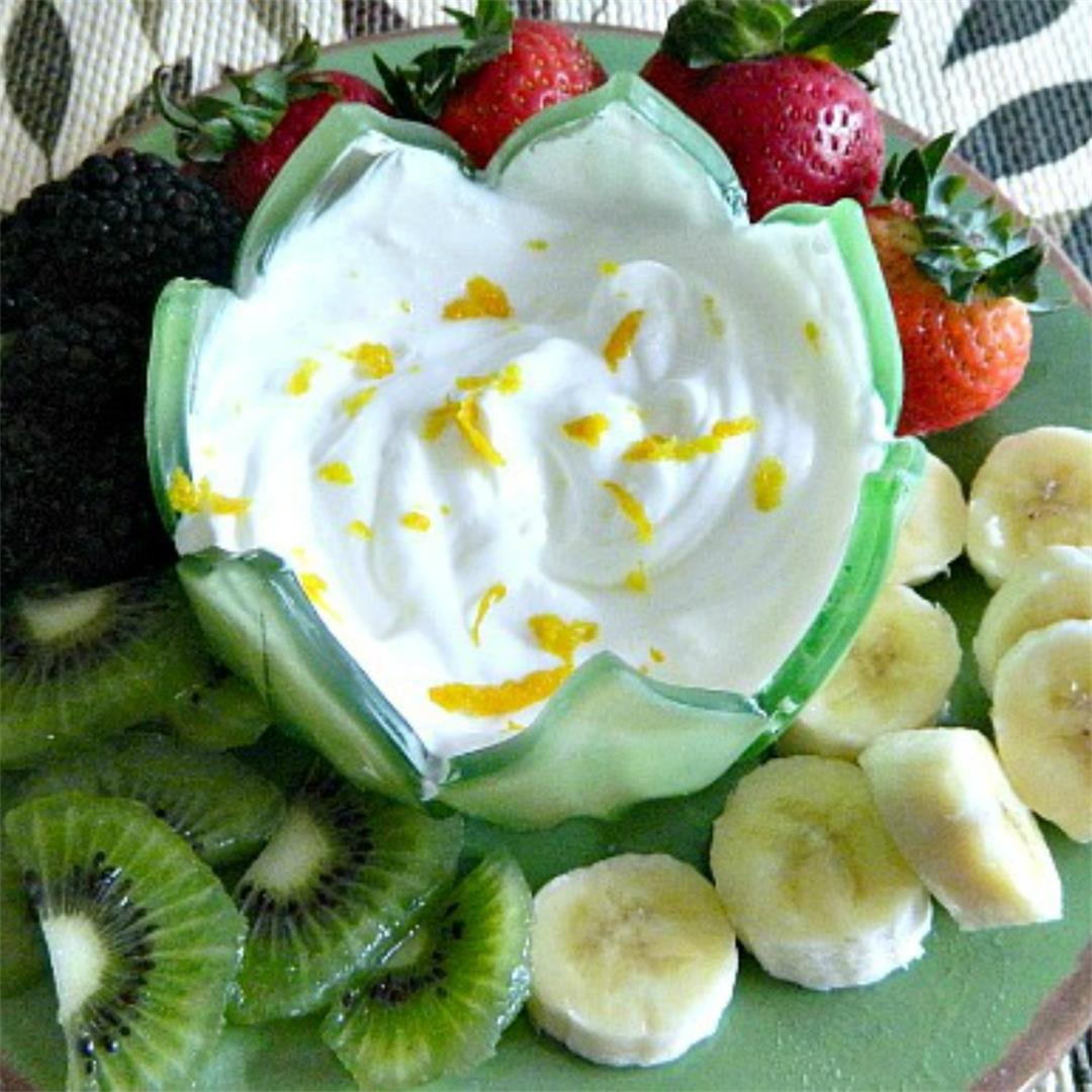 Light Luscious Fruit Dip