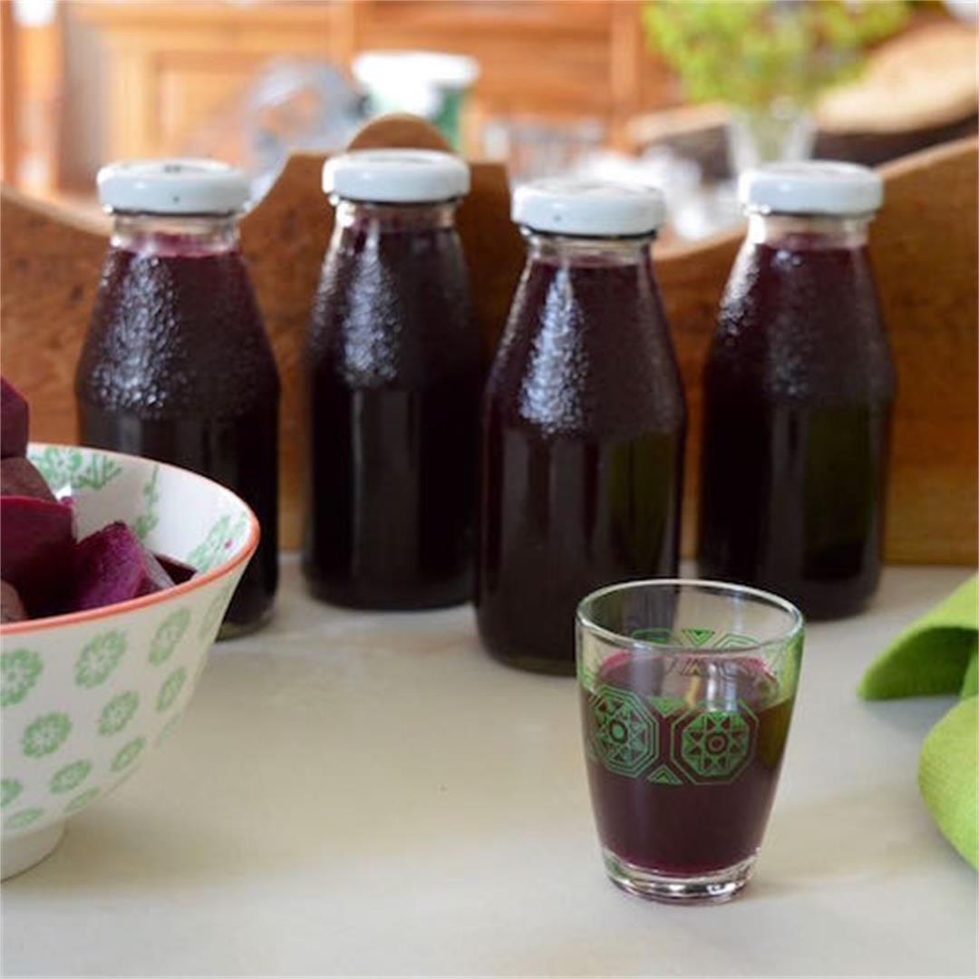 Beet Kvass - A Traditional Ukranian Health Drink