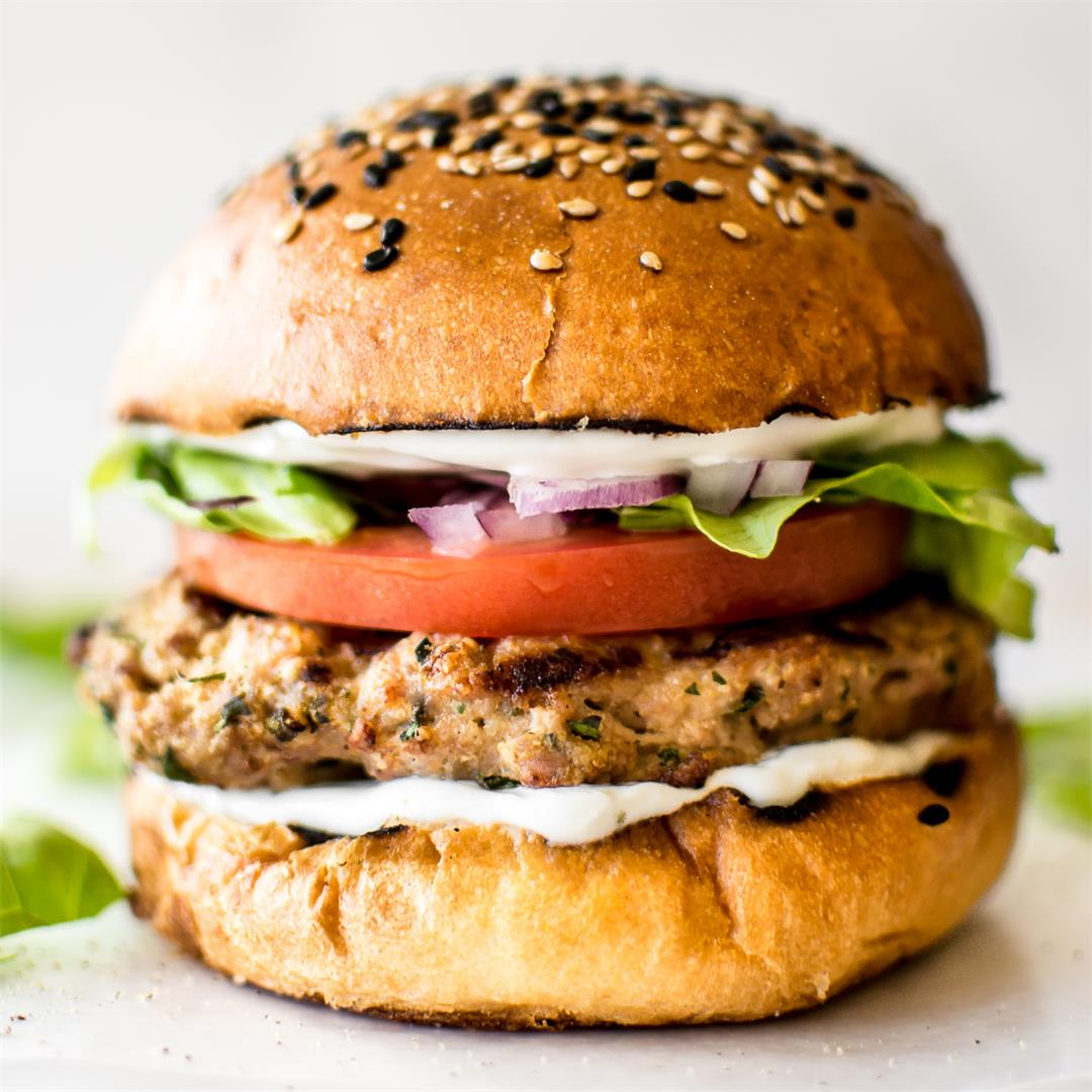 Easy Ground Turkey Burgers