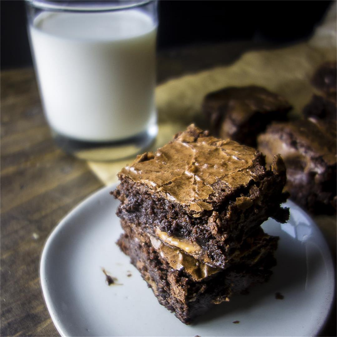 Rolo Brownies Recipe