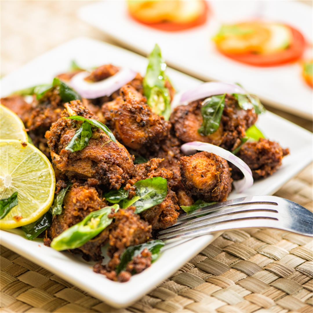 Chicken Masala Fry / Chicken fry / Kerala Chicken Fry