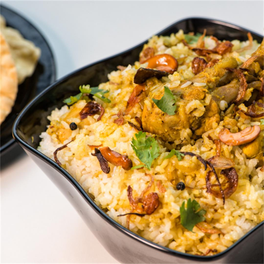 Chicken Biriyani / Kerala Chicken Biriyani