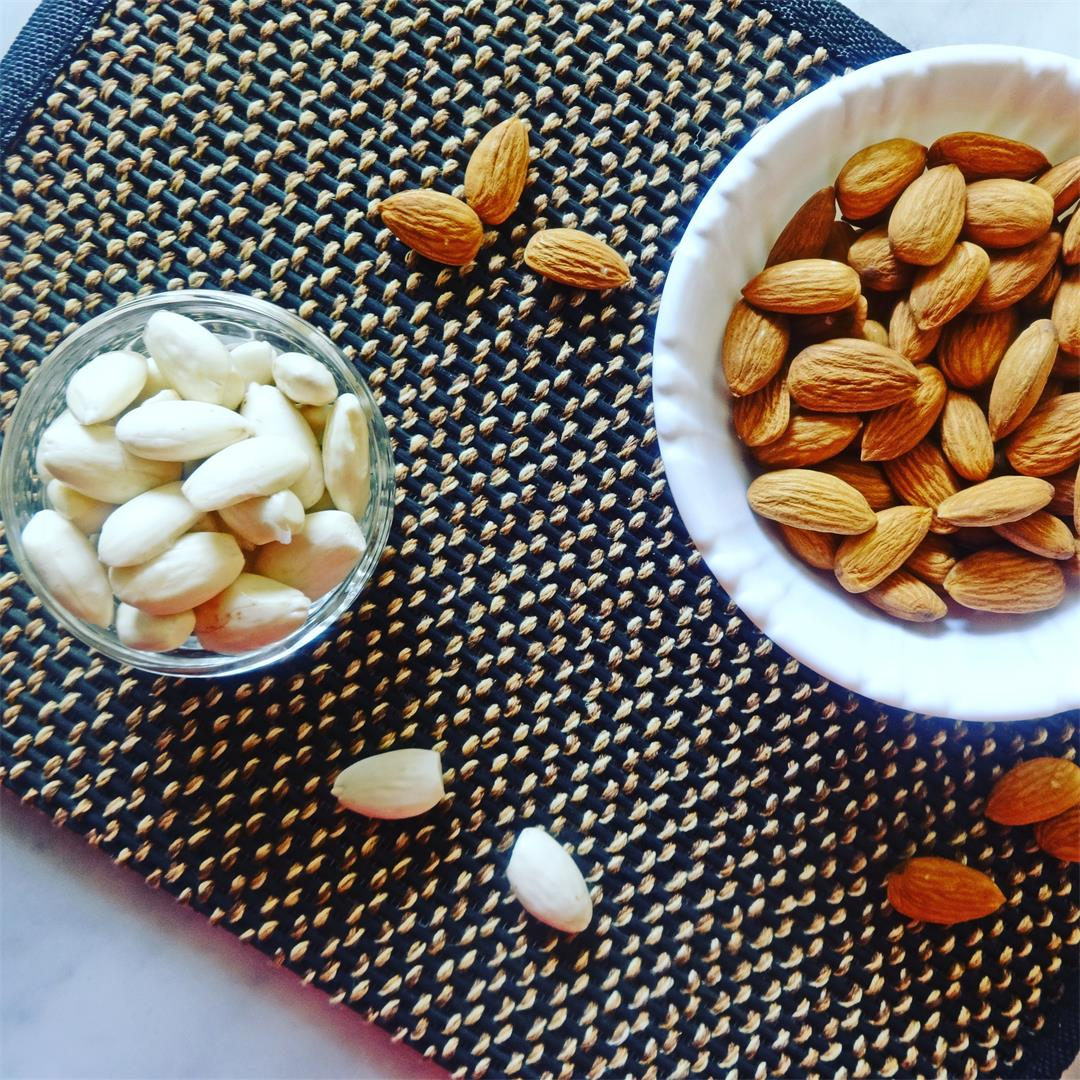 Soaked almonds and its benefits