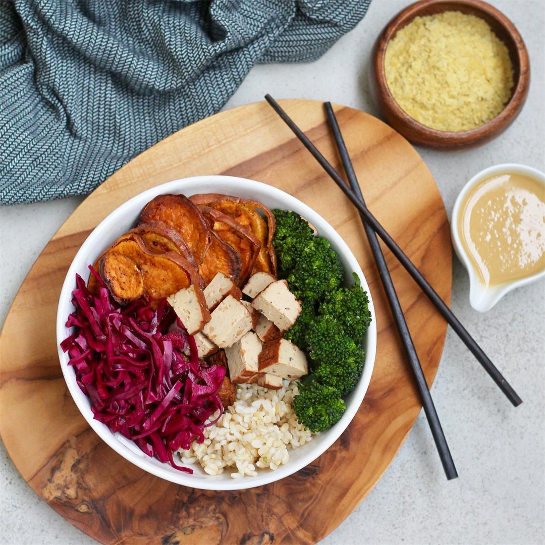 Vegetarian Meal Prep Bowls