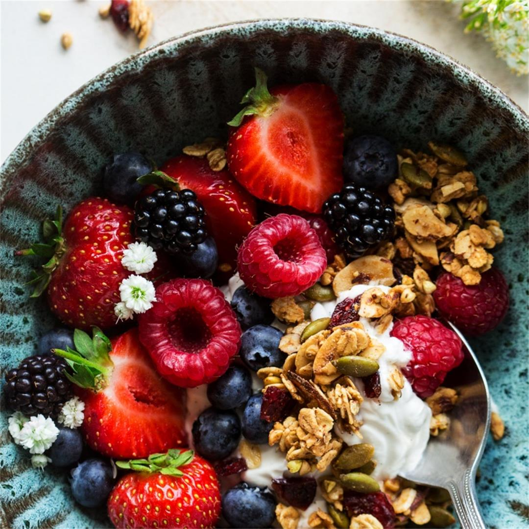 Oil-free granola - two ways