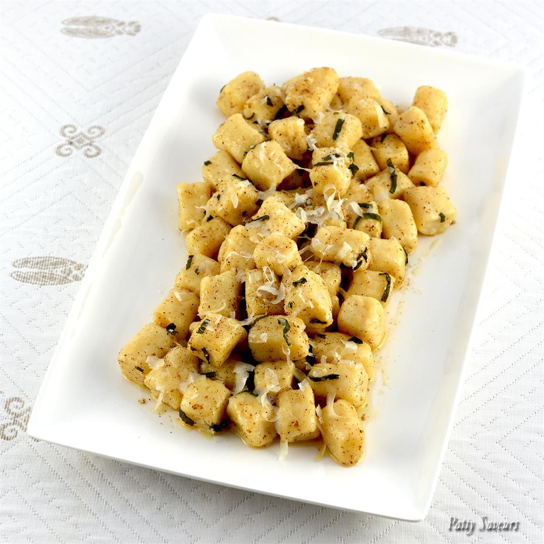 Ricotta Gnocchi Sage Butter Sauce
