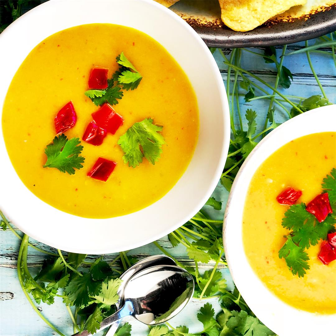 Easy and Refreshing Mango Gazpacho