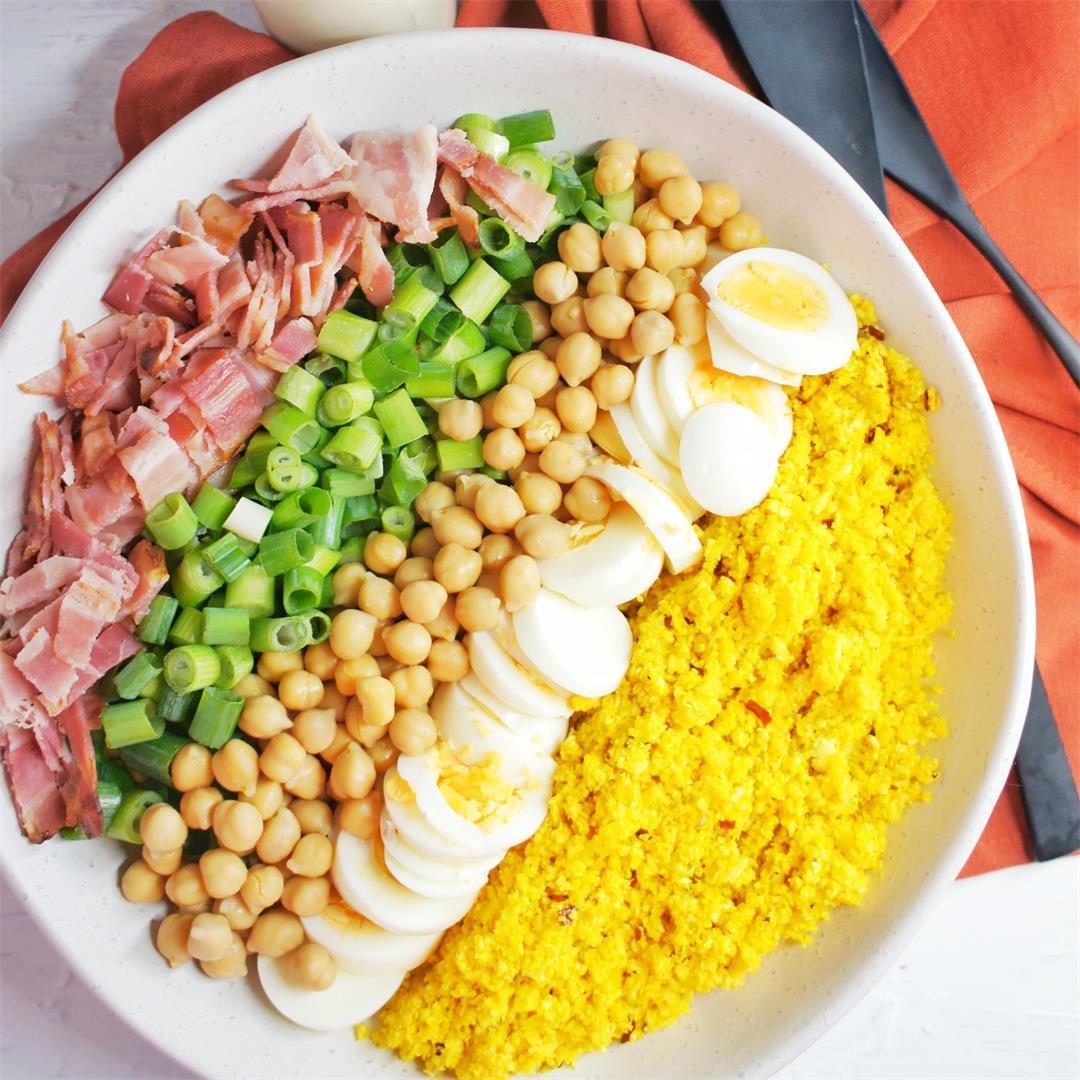 Turmeric Cauliflower Salad