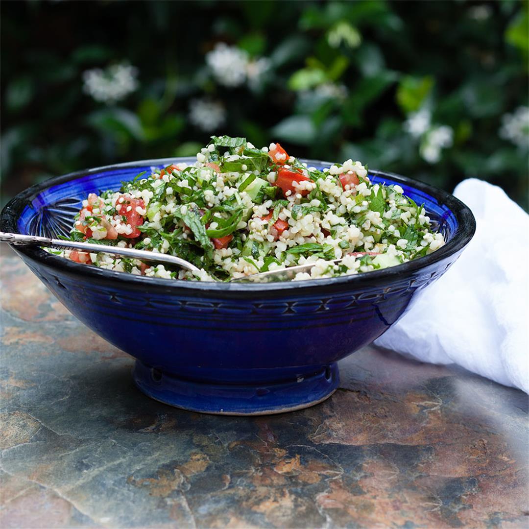 Tabbouleh with quinoa
