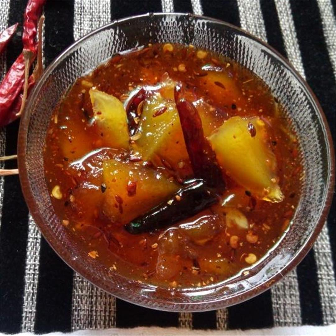 Sweet & Spicy Instant Mango Pickle