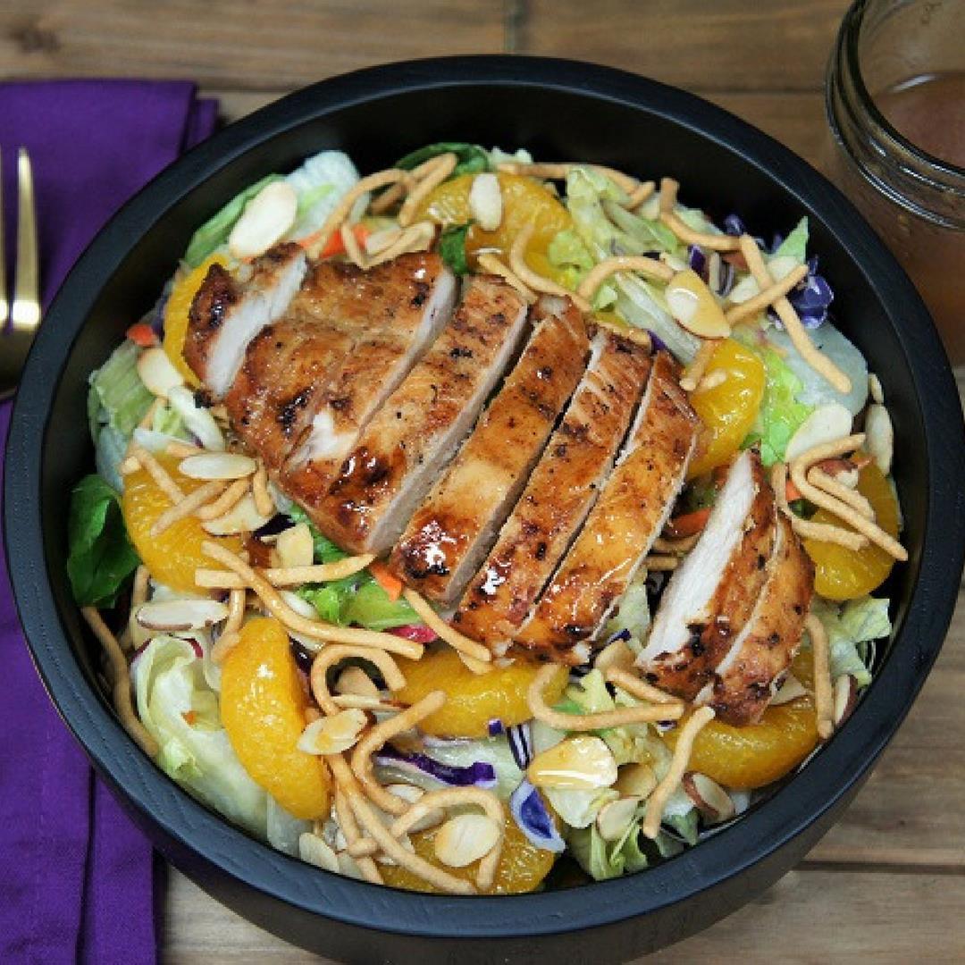 Grilled Chicken Asian Salad