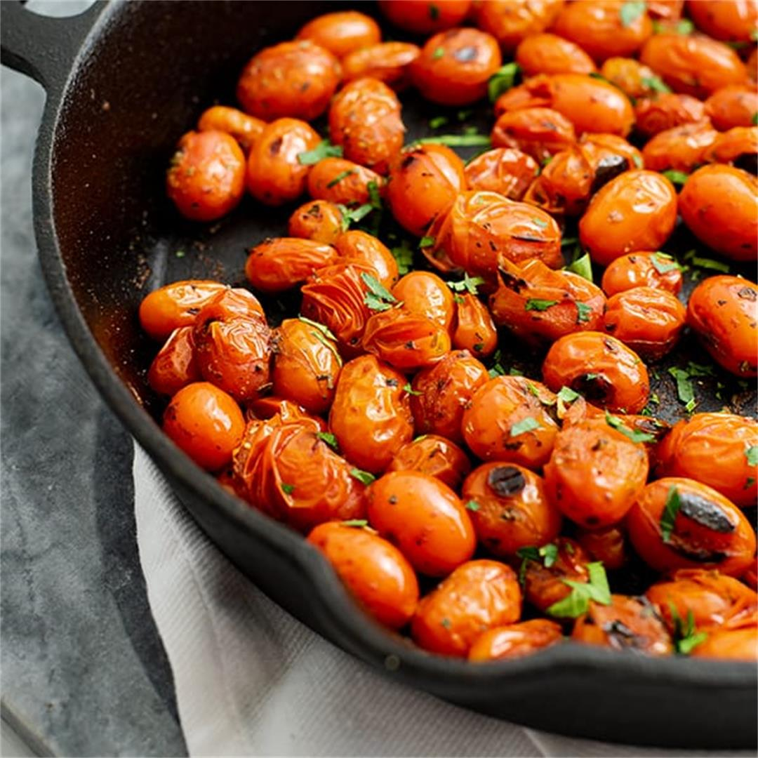 5 Minute Blistered Tomatoes