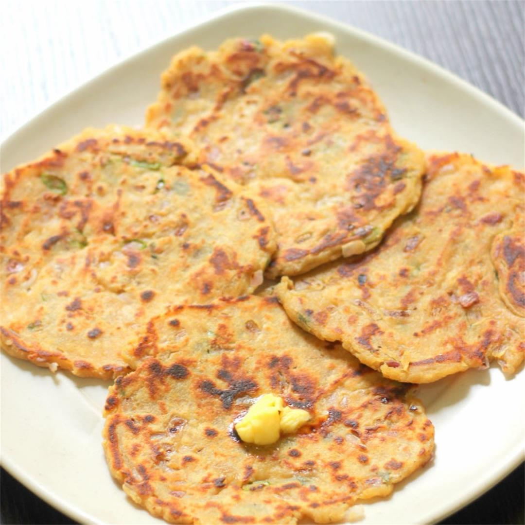 Gram Flour Roti / Indian Gram flour bread