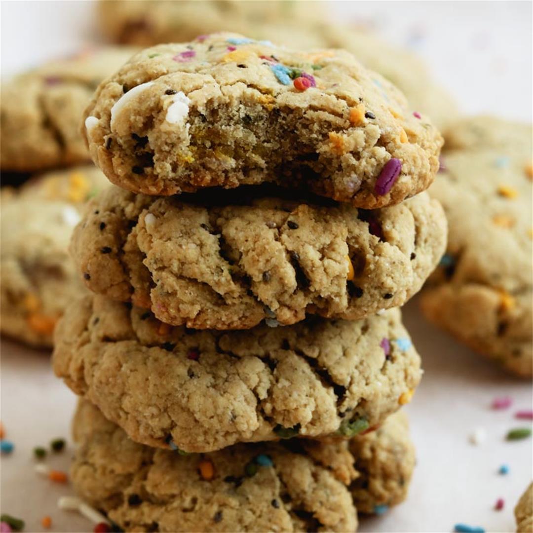 Chai Spiced Protein Sugar Cookies (Vegan)
