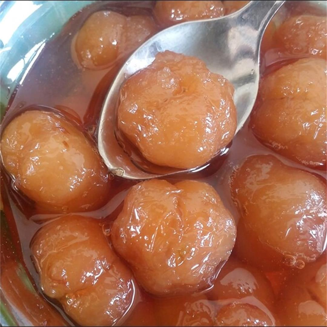 Delicious Star Gooseberry in Sugar Syrup Recipe